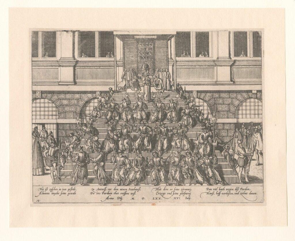 Deze afbeelding heeft een leeg alt-attribuut; de bestandsnaam is H_Afkondiging-van-het-Generaal-Pardon-16-juli-1570-1024x838.jpg