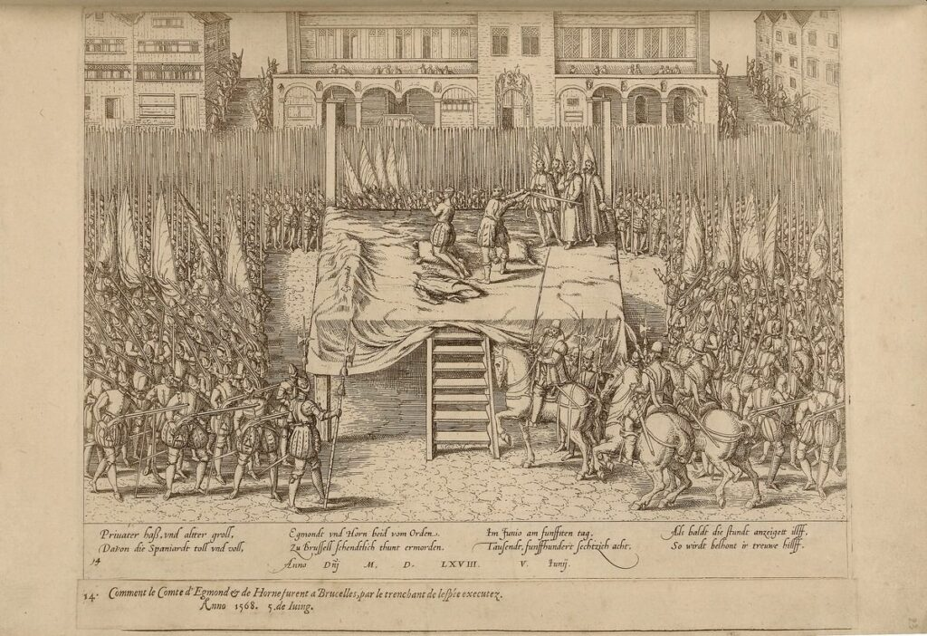 Deze afbeelding heeft een leeg alt-attribuut; de bestandsnaam is H_Onthoofding-van-Egmont-en-Horne-5-juni-1568-1024x702.jpg